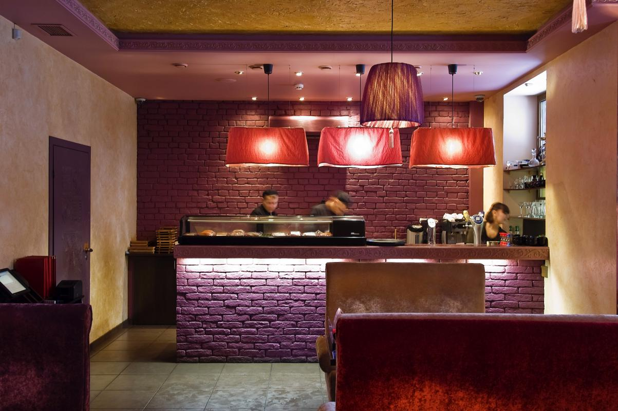 Интерьер для суши бара фото